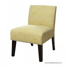major q linen slipper accent chair for