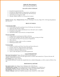Interpersonal Skills Examples On Resume