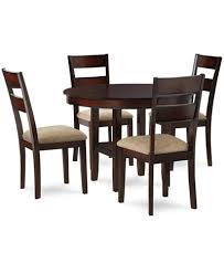 dining room table with leaf. Branton 5-Piece Dining Room Furniture Set Table With Leaf