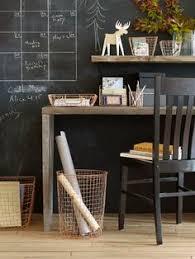 sears home office. #blackwalls #blackinterior #homeoffice #chalkboard Sears Home Office