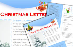 christmas free template worddraw com free christmas newsletter templates