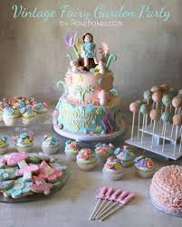 vintage fairy garden party cake cucpakes smash cake cookies cake pops more