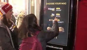Big Mac Vending Machine Simple Vending Machine Dispenses Big Macs In Boston Scoopnest