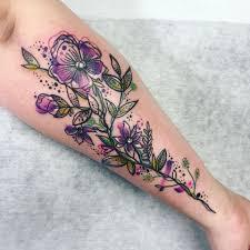 Tetování Květiny Ruka Tetování Tattoo