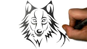 cute simple wolf drawing. Perfect Wolf Cute Simple Wolf Drawing Easy At Getdrawings  Free For  Personal Use Throughout
