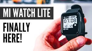 <b>Xiaomi Mi Watch Lite</b> In-Depth Look! The $46 Smartwatch With GPS ...