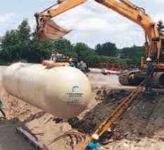 Double Wall Fiberglass Tanks For Underground Petroleum