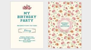 Tutorial On Creating An Elegant Birthday Party Invitation