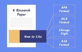 Citation Apa Format How To Cite A Research Paper Apa Mla Asa Chicago Formats