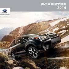 subaru forester 2018 deutsch.  subaru 2014 forester brochure with subaru forester 2018 deutsch