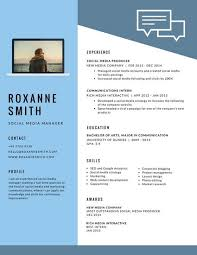 blue modern resume template light blue modern resume templates by canva