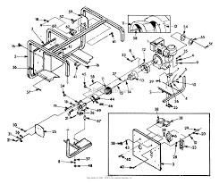Briggs and stratton power products 9435 0 3w741 4 000 watt dayton generators at diagram for
