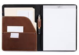padfolio leather portfolio