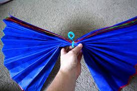 Make Tissue Paper Flower Balls Tissue Paper Flower Ball Decoration How To
