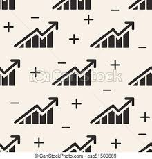 Stock Investment Chart Abstract Stock Market Investment Chart With Arrow Up And Down Pattern Background