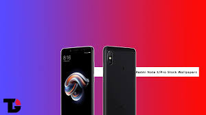 redmi note 5 and note 5 pro stock wallpapers