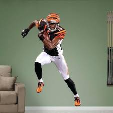 cincinnati bengals bedroom fathead l stick wall graphic cincinnati bengals twin bedding set