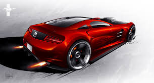 2030 mustang concept. Wonderful Concept Ford Mustang Concept  Rear By EmrEHusmen For 2030 Concept