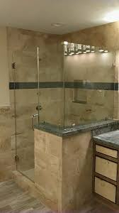 custom glass shower doors and enclosure