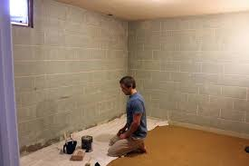 painting basement wallsPainting Basement Walls  TwoFeetFirst