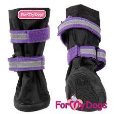 <b>Сапоги For MyDogs</b> РП Черные/фиолетовые. купить по выгодной ...