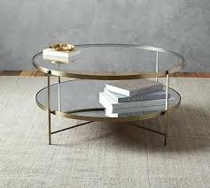 pottery barn glass coffee table round coffee table pottery barn round glass coffee table