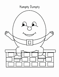 humpty dumpty coloring pages free luxury humpty dumpty coloring book plus coloring page coloring pages