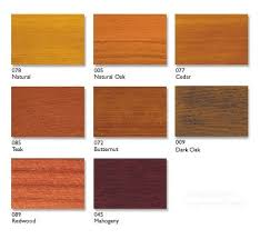 Wood Stain Comparison Chart Stain Colors Wood Online Charts Collection