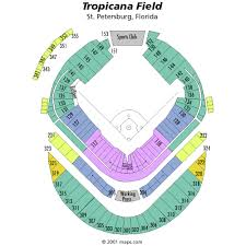 Tropicana Field Seating Chart Views Reviews Tampa Bay Rays
