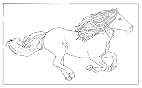 Coloriage Cheval Grand Galop L L L L L L L