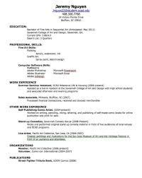 Resume Builder For Students Resume Templates