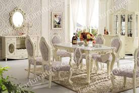 white italian furniture. Dining Table Set Classic White Italian, 6 Chairs In Italian Furniture