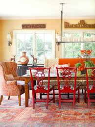 decorating with red furniture. Cozy Decorating {Orange Decorating With Red Furniture