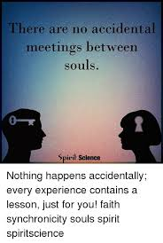 Spirit Science Quotes Extraordinary There Are No Accidental Meetings Between Souls Spirit Science