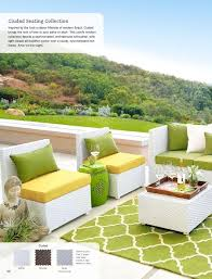 yellow patio furniture. Yellow Patio Furniture. Pier 1 Ciudad Seating - And Green Furniture Looks Pretty