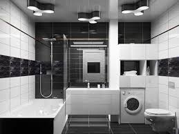 Wonderful Black And White Bathroom Tile Ideas Bathroom Decorating Interesting Black Bathroom Tile Ideas