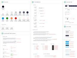 Design Spec Style Color Tenx Design System Shafi Cassim