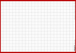 In Full View Medium Wall Planner Graph Paper Horizontal