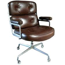 vintage style office furniture. Brown Leather Desk Chair Vintage Style  Time Swivel Vintage Style Office Furniture