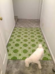 rug on carpet pads flip the area rug over walk across it a few times to rug on carpet