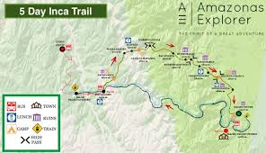 Inca Trail Elevation Chart What Is The Difference Between The 5 Day Inca Trail And The