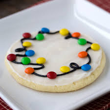 round christmas sugar cookies. Beautiful Cookies How To Make Christmas Lights Cookies In Round Sugar S