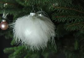 Weißer Christbaumschmuck Weiss Weihnachten Mokowo