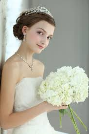 花嫁 髪型 おだんご 美しい髪