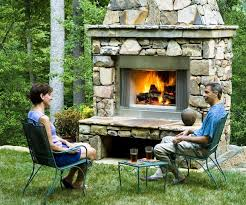 enjoy prefab outdoor fireplace