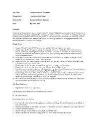 Sample Resume For Loan Processor Bunch Ideas Of Fha Loan Processor Sample Resume Processor Resume 22