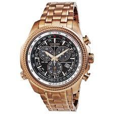 citizen perpetual calendar chronograph black dial rose gold tone citizen perpetual calendar chronograph black dial rose gold tone men s watch bl5403 54e