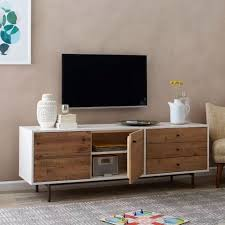 west elm tv console. Delighful Console X Reclaimed Wood  Lacquer Media Console  Long For West Elm Tv O