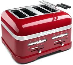 red kitchen aid toaster artisan 4 slice toaster red kitchenaid red toaster 4 slice