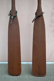 boat oars pair vintage oars wooden oars brass oar locks rustic oars coastal wall decor oar art coastal living decor